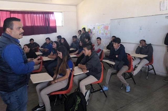 Pagó SEP Puebla a docentes de telebachilleratos comunitarios
