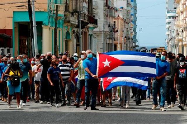 Cortan internet en Cuba y hay detenidos por manifestaciones
