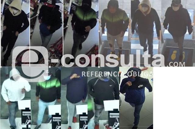 Roban tienda Oxxo en Xilotzingo y queda grabados en video