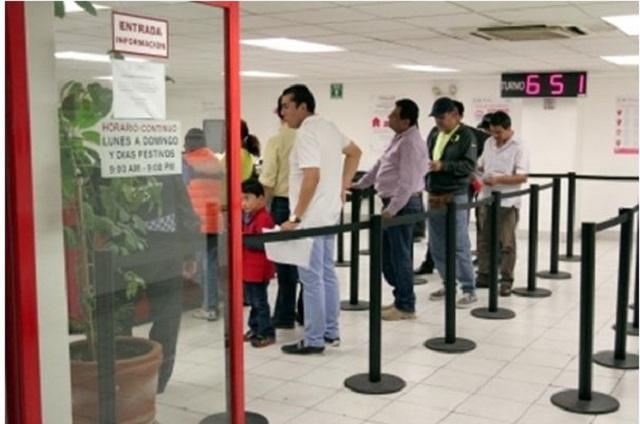 Cierran bancos 867 sucursales; cancelan 1 millón de tarjetas de crédito