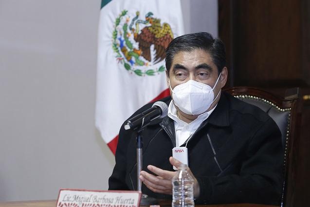 Puebla puede ampliar su capacidad hospitalaria: Barbosa