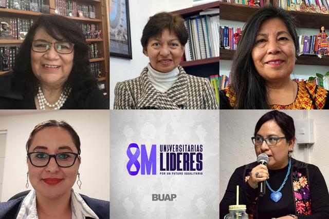 Conmemoran universitarias BUAP el Día Internacional de la Mujer