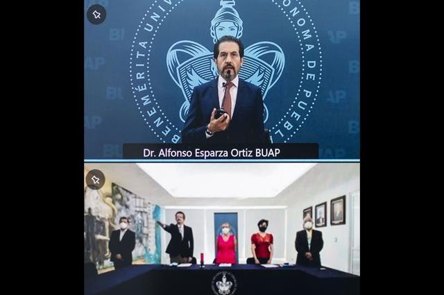 BUAP destinará más recursos para la salud : Alfonso Esparza