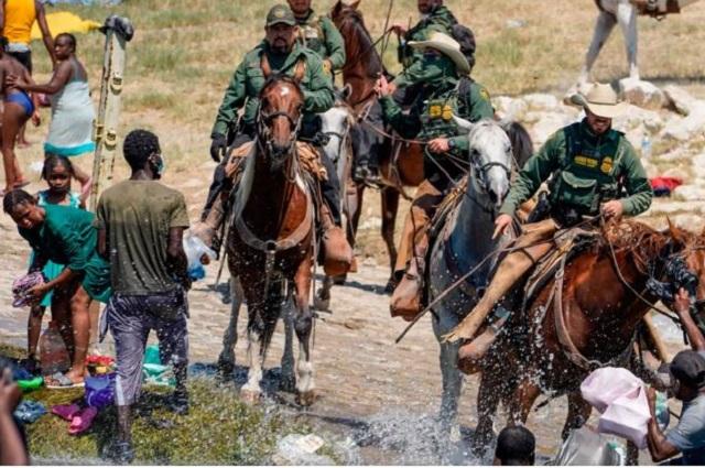 EU frena uso de caballos para vigilar la frontera
