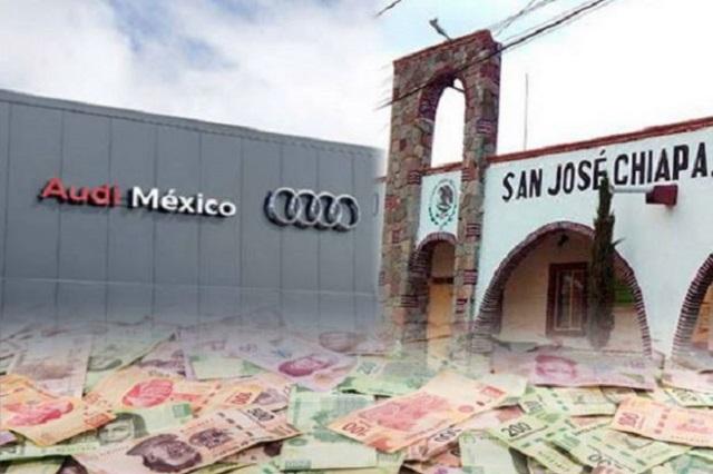 AUDI pide que sus obreros se vayan a vivir a San José Chiapa