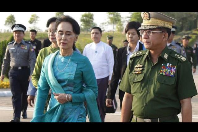 Ejército en Birmania planea quedarse en el poder 1 año
