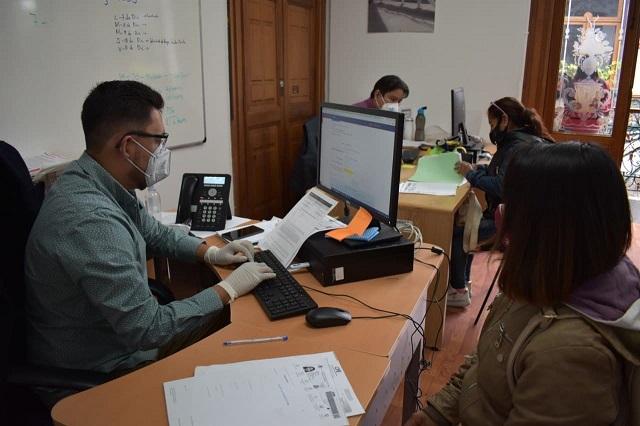 Cierra inscripción para apoyos al comercio formal en Puebla capital