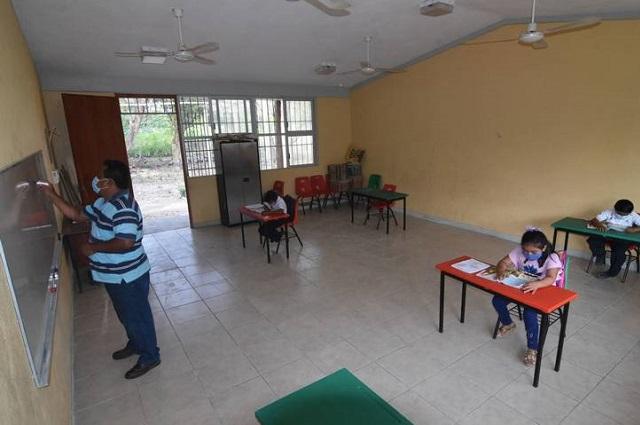 Regresaron a las aulas 137 escuelas rurales de Campeche
