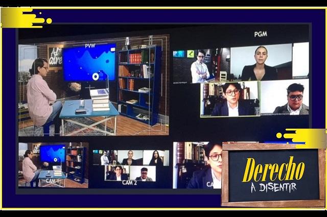 Estudiantes de IBERO Puebla participan en programa de Justicia TV