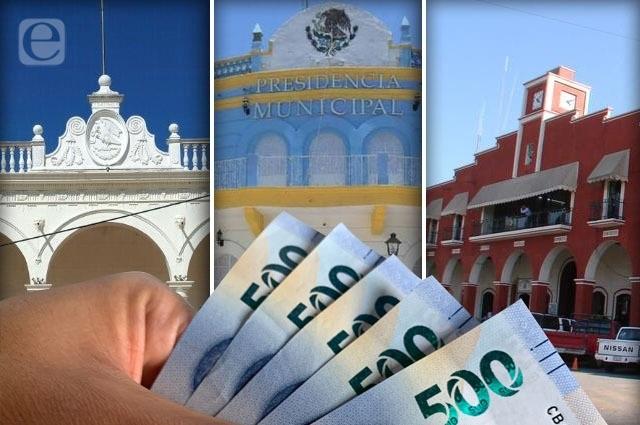En apuros Acatlán y Xicotepec por nivel de su deuda pública