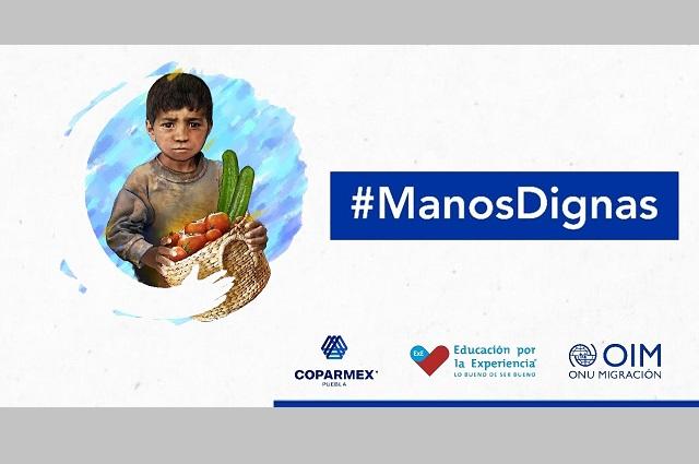 Lanzan campaña contra trata y trabajo infantil en Puebla