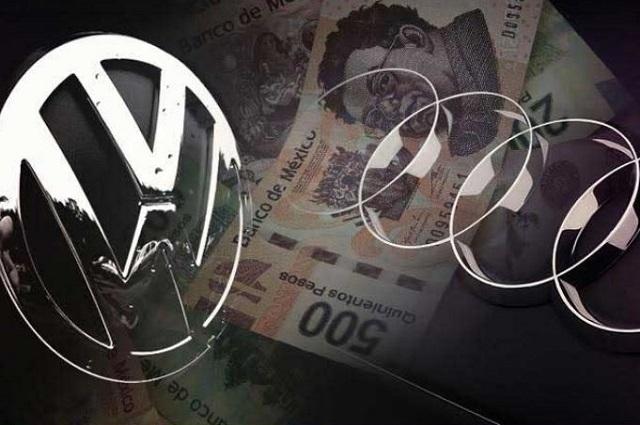 Cayeron exportaciones de VW y AUDI en 21 y 2.6 %