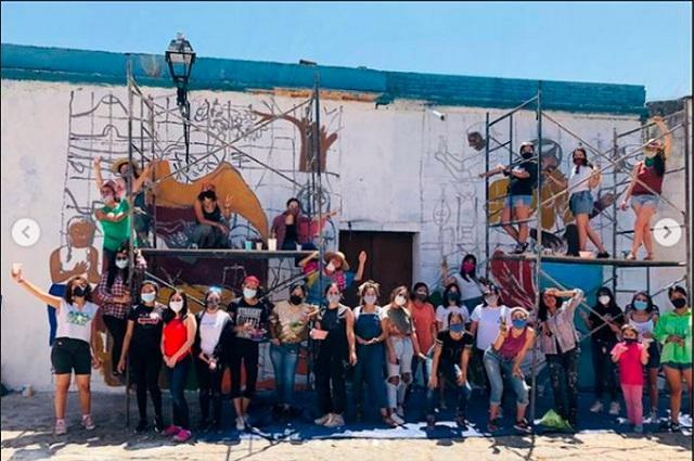 El mural que debió ser: una obra rescatada por los feminismos