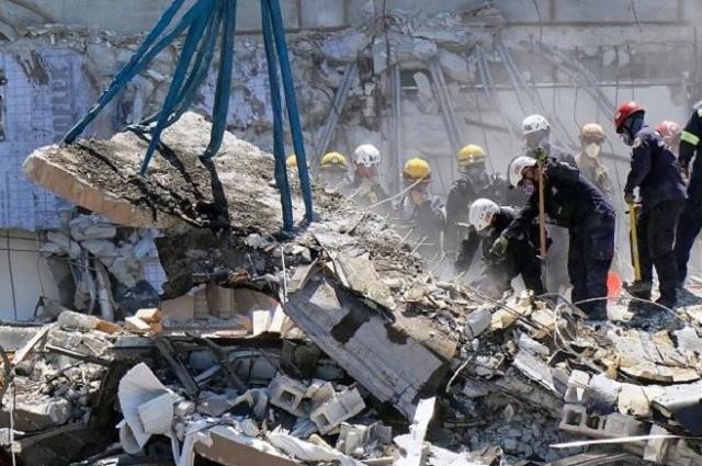 Edificio Champlain, en Miami, fue derruido por completo