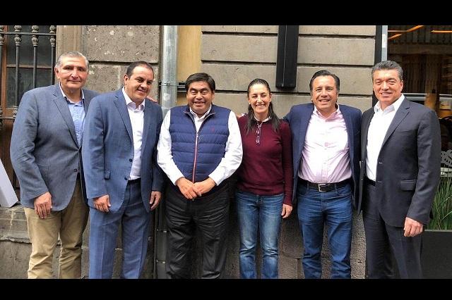 Mandatarios de Morena cargan contra INE y TEPJF por sanciones