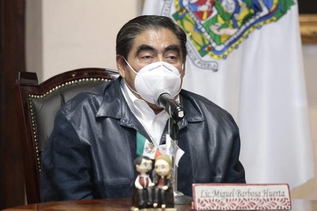 Pedirá Barbosa investigar al CCE por recabar datos de vacunados