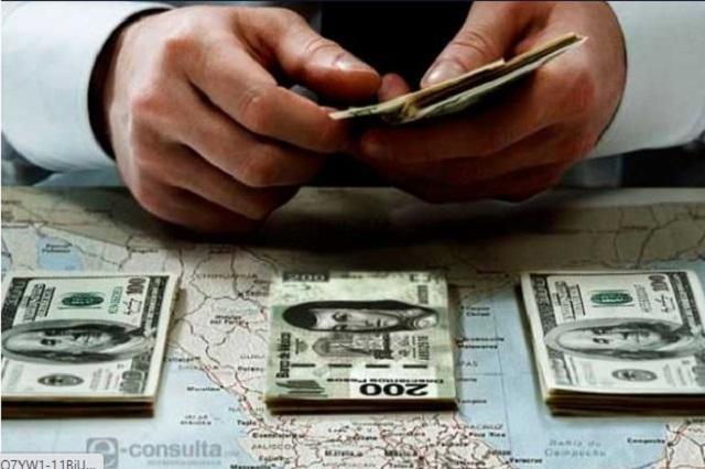 Aumentan remesas en México pero bajan en Puebla: Banxico