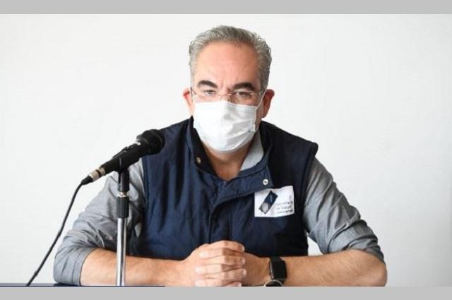 Covid en Puebla, con lenta tendencia a la baja: Salud