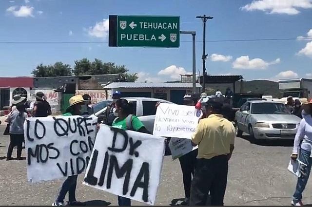 Exhorta Barbosa a delincuentes a liberar a candidato de Acajete