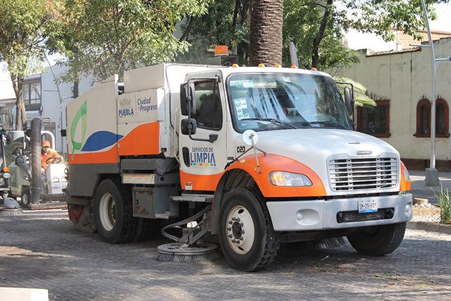 Gobierno de Puebla garantiza servicio de limpia pese a conflicto sindical