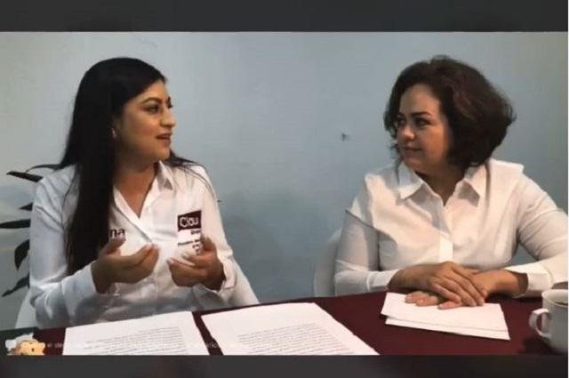 Pide Claudia Rivera evaluar sus propuestas no su apariencia