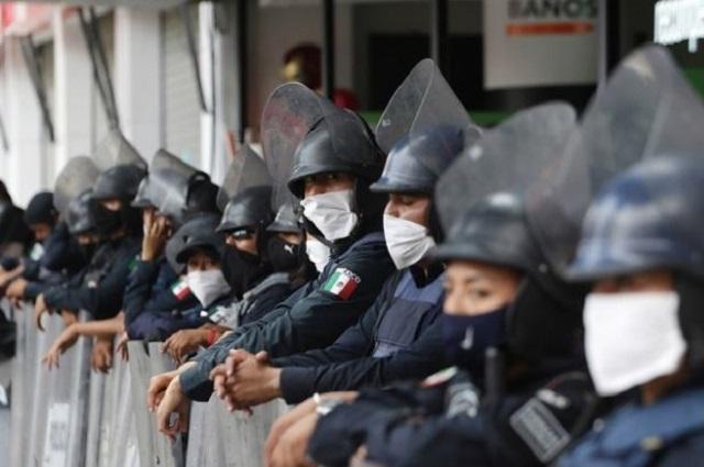 Barbosa no desplazará a mandos de seguridad en Puebla capital