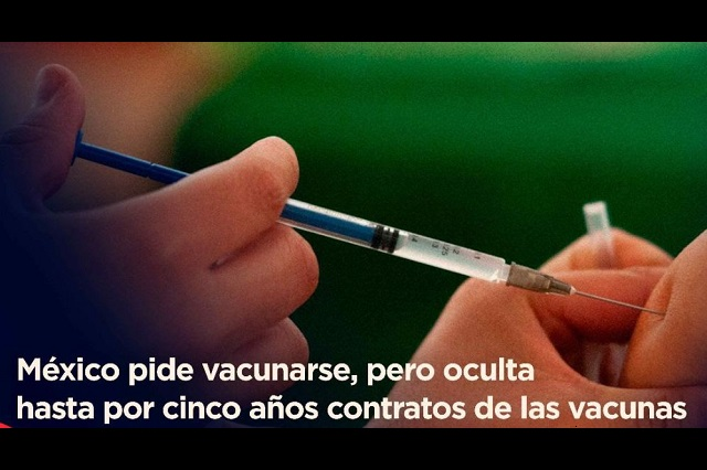 México reserva hasta por 5 años contratos de vacunas