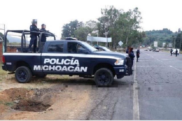Dejan 9 cadáveres, con huellas de tortura en el centro de Zitácuaro