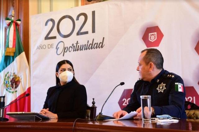 Baja índice de robos en la capital poblana, informa SSC
