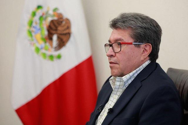 INE actúa con mucha carga anti AMLO, dice Ricardo Monreal