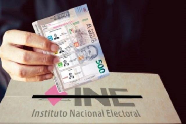 Con 200 mdp multará INE pifias financieras de partidos