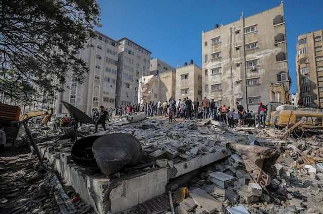 Israel bombardea Gaza; suman 197 muertos por ataques