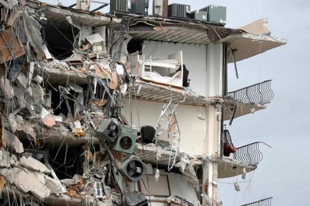 En abril alertaron sobre daños en edificio de Miami