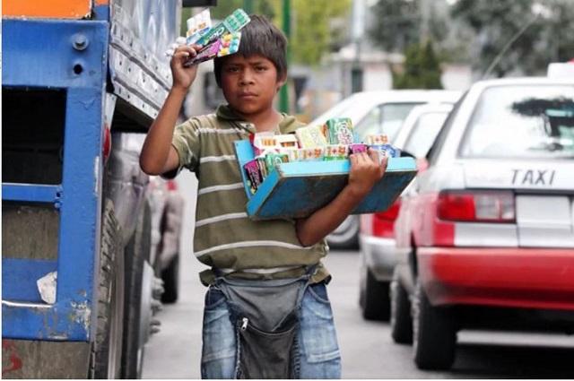 Ubican a Puebla entre los tres estados con más explotación infantil