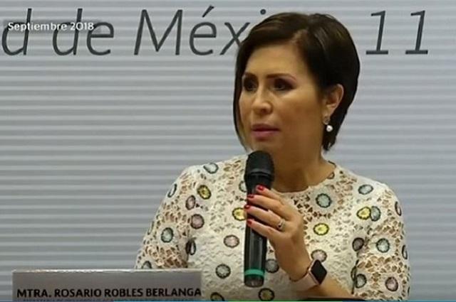 Nuevo amparo a Rosario Robles podría sacarla de la prisión