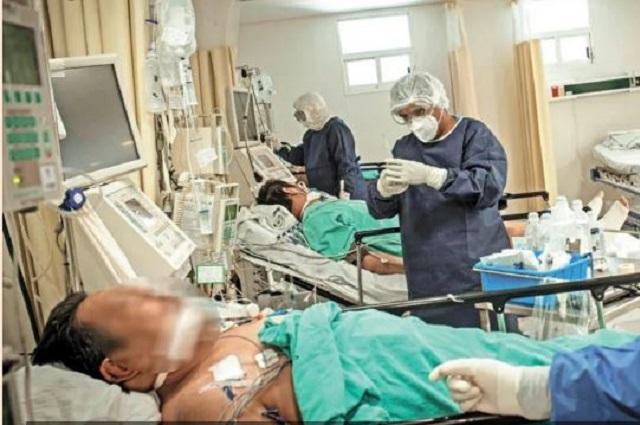 Oaxaca reporta 18 hospitales saturados por casos de covid