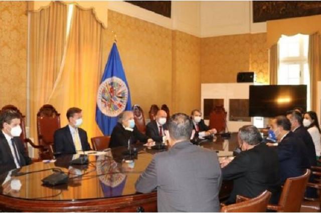PAN, PRI y PRD acusan en OEA narco y acoso en México