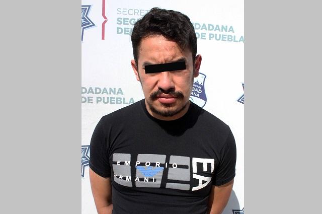 Lo atrapan en la Guadalupe Hidalgo por andar con arma de fuego