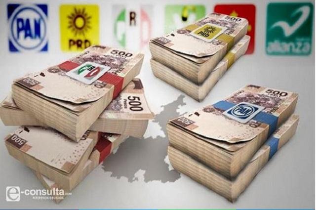Multa INE con 21.9 mdp a Morena, PAN, PRI, PRD y MC en Puebla