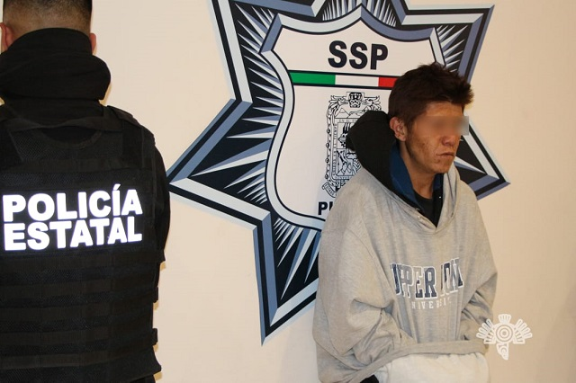 Atrapan al Pecas por asaltar transporte público en Puebla
