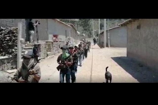 Niños policías rurales de Guerrero reprochan desatención oficial