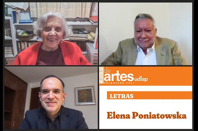 Elena Poniatowska inaugura Cátedra de Artes UDLAP 2021