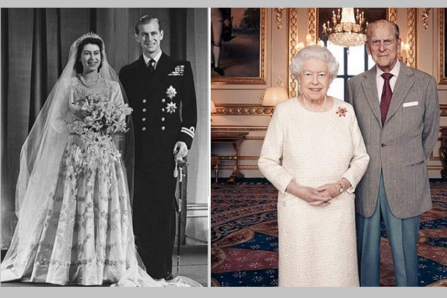 Dan último adiós al príncipe Felipe en Londres