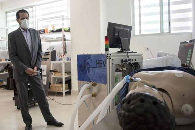 Científicos de la  BUAP desarrollan prototipo de  ventilador mecánico