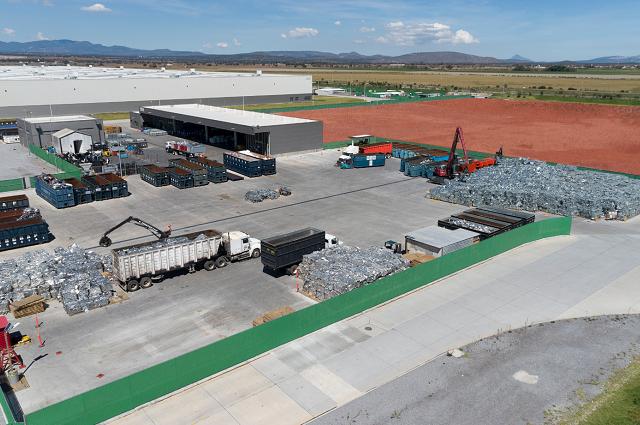 Audi México recicla más de 30 mil toneladas de residuos