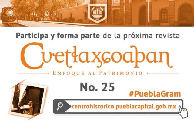 Revista Cuetlaxcoapan dedica edición al ferrocarril en Puebla