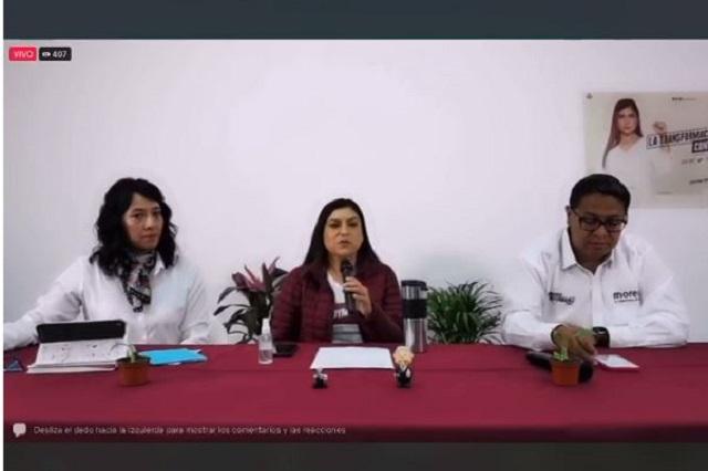 Candidatos declinarán a favor de Rivera Pérez, prevé Claudia Rivera