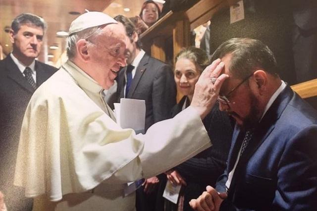 Papa integra a egresado UPAEP a la Academia del Vaticano