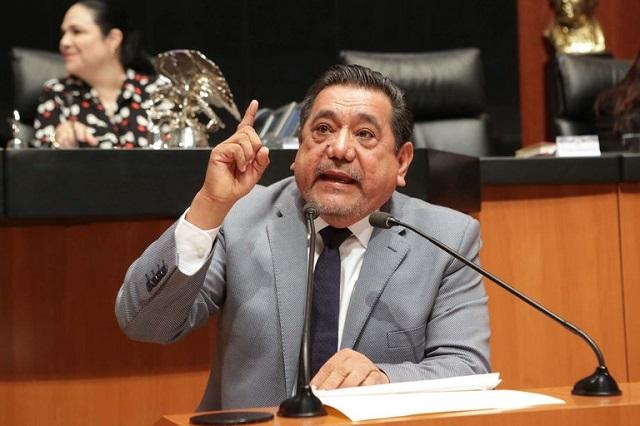 Félix Salgado culpa a Morena por no entregar informe de gastos