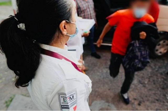 EU regresó 721 menores de edad a Puebla, en 6 meses